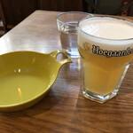 アネアカフェ - 生ビール