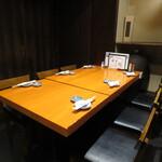 石狩川 - 団体テーブル席