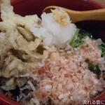 うどん居酒屋 海士麺蔵 - 舞茸天の揚げ出し