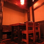 紀州屋 - テーブル席