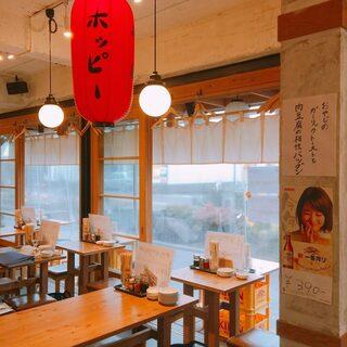 駅近の昭和レトロな空間◎ちょい飲みにうれしい16時オープン♪