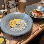 Shirasushokudoujakoyananadaimeyamari - * しらすスクランブル丼 1,485円