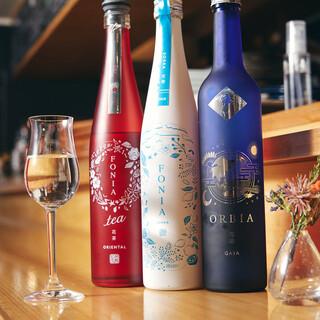 これ、全部日本酒です‼️日本だけでなく世界中から集めた日本酒