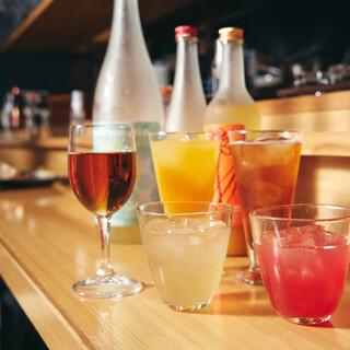日本酒初心者や女性も必見❗️【日本酒カクテル】&【果実酒】