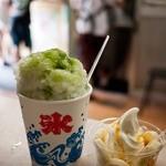 甘党トキワ - 甘党トキワ 三食氷