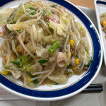 リンガーハット - 「長崎皿うどん」(520円)。昔から変わらずの味。美味しいです。