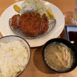 Ponchiken - 上ロース豚かつ定食 1,500円