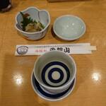 海鮮処 函館山 - 料理写真:みそぎの舞とお通し