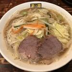 濃菜麺 井の庄 - △濃菜麺820円