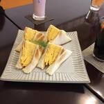 リーサカフェ - たまごサンド