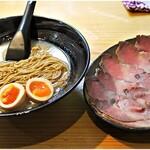 道玄 - チャーギュウ麺 Special+半熟煮たまご 1650+110円