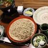 山の飯 沙羅 - 料理写真:地どりそば、1,800円。