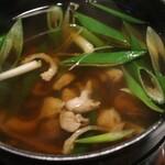 山の飯 沙羅 - 国産地鶏の鍋