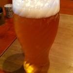 炭火割烹 蔓ききょう - 生ビール550円