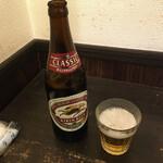 アキバの酒場 - 瓶ビール480円(税別)
