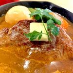 145213382 - 一月限定食材。葡萄牛ステーキカリー。