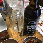大阪焼肉・ホルモン ふたご - ホッピーセット420円(税別)