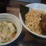 らーめん 会 - チャーシューつけ麺(大600g)
