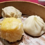 横浜中華街 中國上海料理 四五六菜館 - 点心三種。