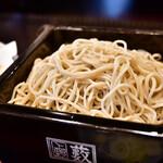 上野藪そば - 料理写真:天せいろう@1,890円