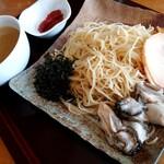 スープメン - 牡蠣塩らぁ麺(お取り寄せ)・つけ麺アレンジ