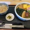 うどん ゆきの - 料理写真:かやく定食