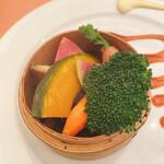 145237138 - 三浦の朝獲り蒸し野菜