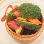 145237141 - 三浦の朝獲り蒸し野菜