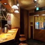麺屋武蔵 二天 - 店内光景。