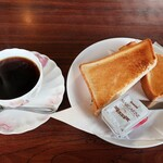喫茶レストラン フラミンゴ - 料理写真:モーニング(全体)