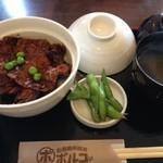 函館朝市豚丼ポルコ - ハーフ