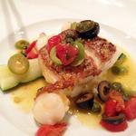 シャンパン食堂 - メイン 真鯛のポワレ地中海風