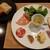 カーサディオーロ - 料理写真:自家製前菜8種盛り、温めて提供されるおかわりOKのパンは、黒ごま入り自家製フォカッチャとフードスケープさんのバゲット