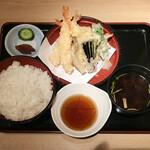 松月 - 天ぷら定食