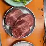 美奈登 - サラダ、牛たん2