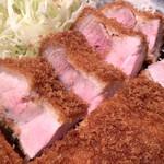 きんとん - 特選ロース。レアでも食べられる長崎芳寿豚