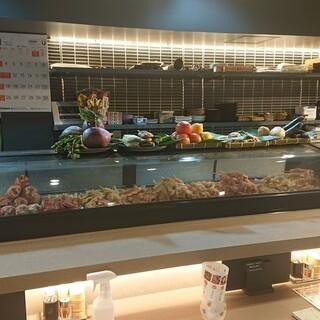 お寿司屋さんの様な焼鳥屋(*^^*)