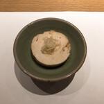 Ebisusushishiorianyamashiro - 先付(あん肝の生姜煮)