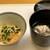 神楽坂ささ木 - 右: 酢飯にあん肝 あん肝の濃厚な味に酢飯の味が重なり、とても円やかな味わいに、胡麻の香りと食感が良いです♪ 右:鱈の白子の生姜あんかけ 生姜の香りと味わいが、熱々の白子と共にスーッと身体に流れ、気持ちも身体もポッカポカ、冬の温活にもってこいです(^^♪