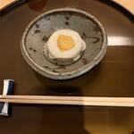 旬菜山﨑 - 料理写真:風呂吹き大根の白子ソース ゆず味噌