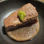 145259142 - 牛肉と大根のバーボン煮