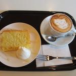 フレスコ コーヒーロースターズ - ケーキセット