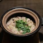 Tokkuri - 地鶏と蓮根(土鍋炊き込みごはん) 1,500円