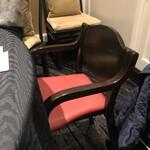 145268013 - 子ども用椅子を用意してもらいました