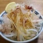 赤坂あべちゃん - オニオンスライスが美味しい