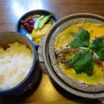 Mingeichayarokkyu - 柳川鍋 & 白飯 1