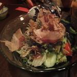 多慶家 - かりかりじゃこサラダ