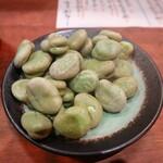 茨城串や まる久 - 茹で空豆