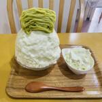 雪菓 - ずんだモンブラン ホイップ添え 1,500円
