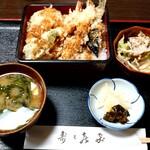 寿々喜家 - 料理写真:天重(並)(税込1210円)